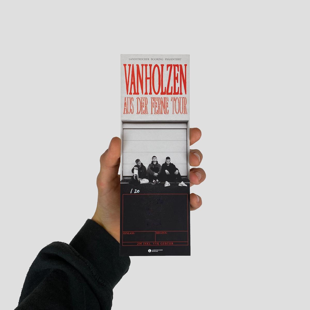 Produktfoto Aus Der Ferne Tour Ticket
